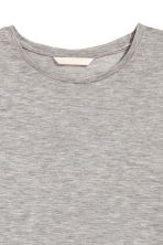 Lyocell top - Grey marl - Ladies | H&M 3